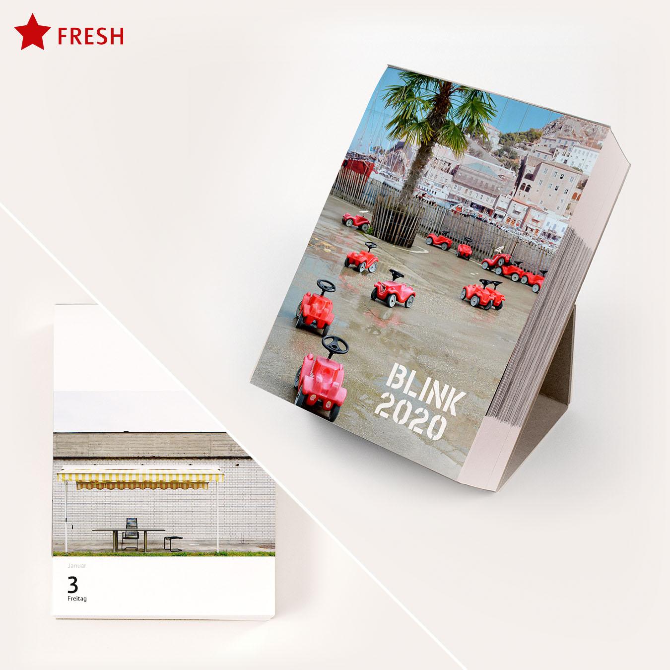 AUSVERKAUFT!  /// /// /// BLINK 2020: Der Foto-Abreiß-Kalender