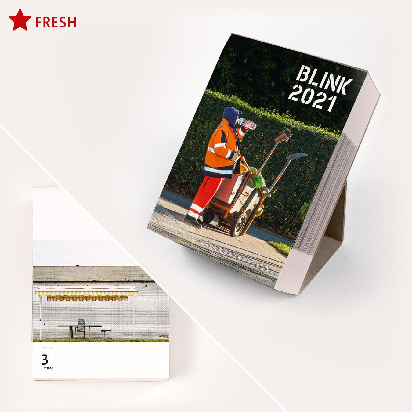 SOLD OUT!  /// /// /// BLINK 2020: Der Foto-Abreiß-Kalender