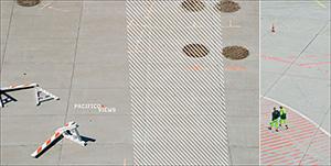 2009: Streifen Flughafen Baustelle (DINlang)