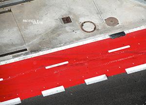 2012: Roter Radweg