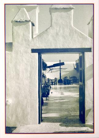 Tür im Süden