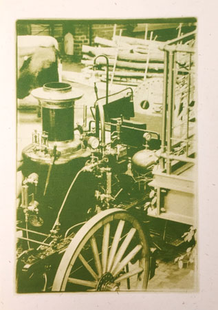 Dampfmaschine (Duplex grün)