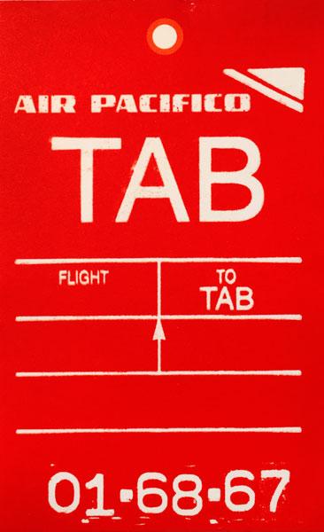 Notiz-Zettel AIR PACIFICO (10 Stk)