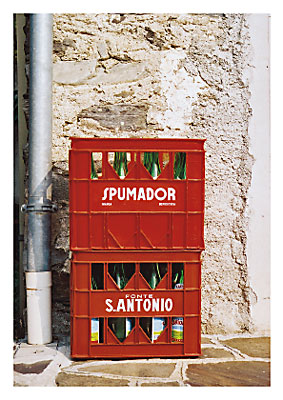 2007: italienische Flaschen
