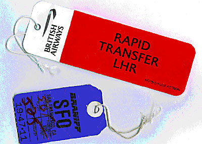 2003: Airline-Gepäck