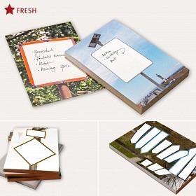 Notizblock. Fotos »Schilder«. DIN A6.