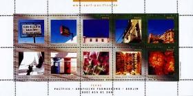Pacifico-Briefmarken Ferne