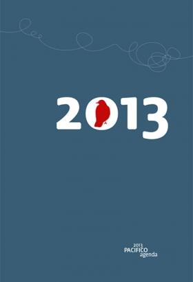 AUSVERKAUFT! /// /// PACIFICIOagenda Kalendarium 2013 (1. Halbjahr)